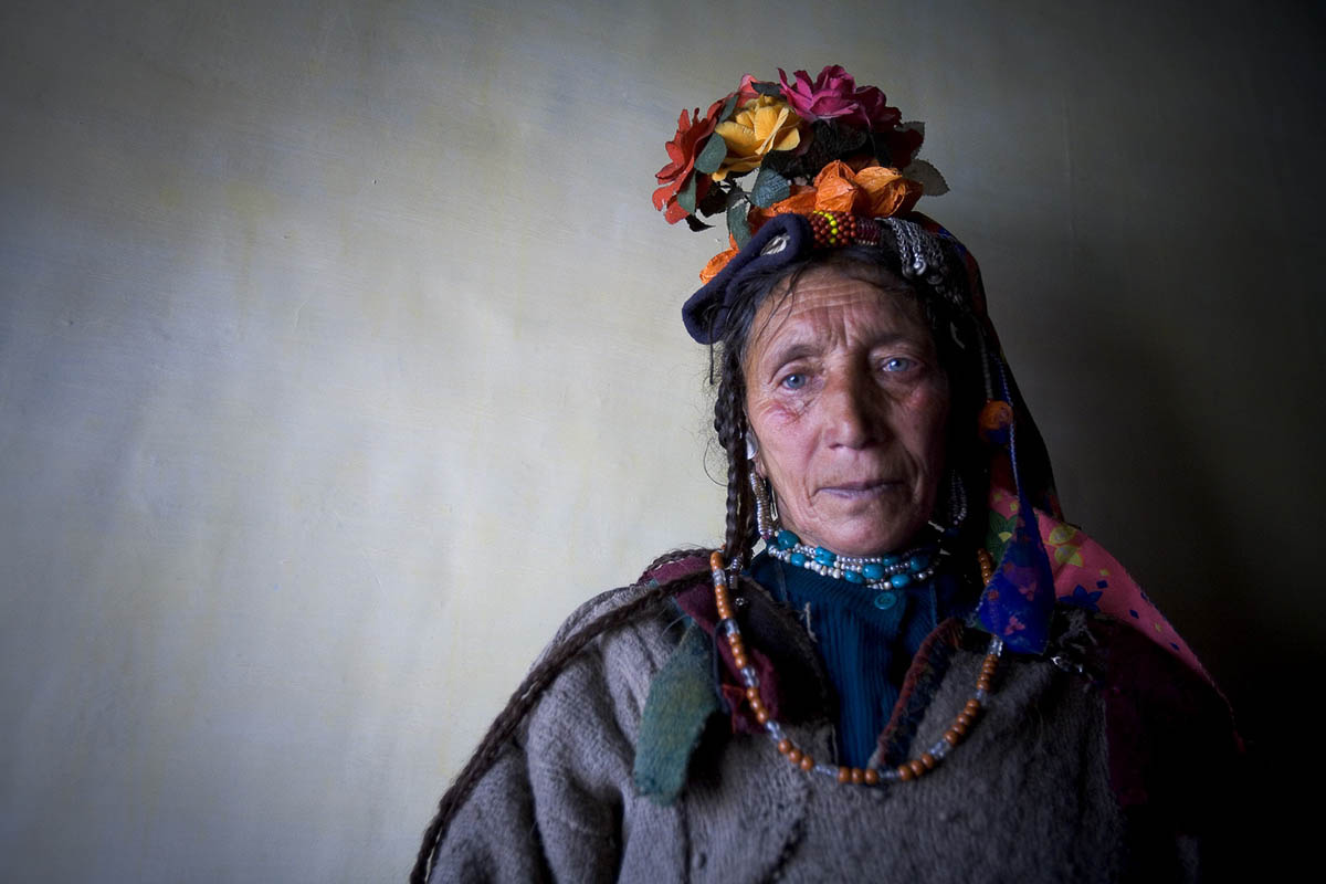 Drokpa Woman, Ladakh, India