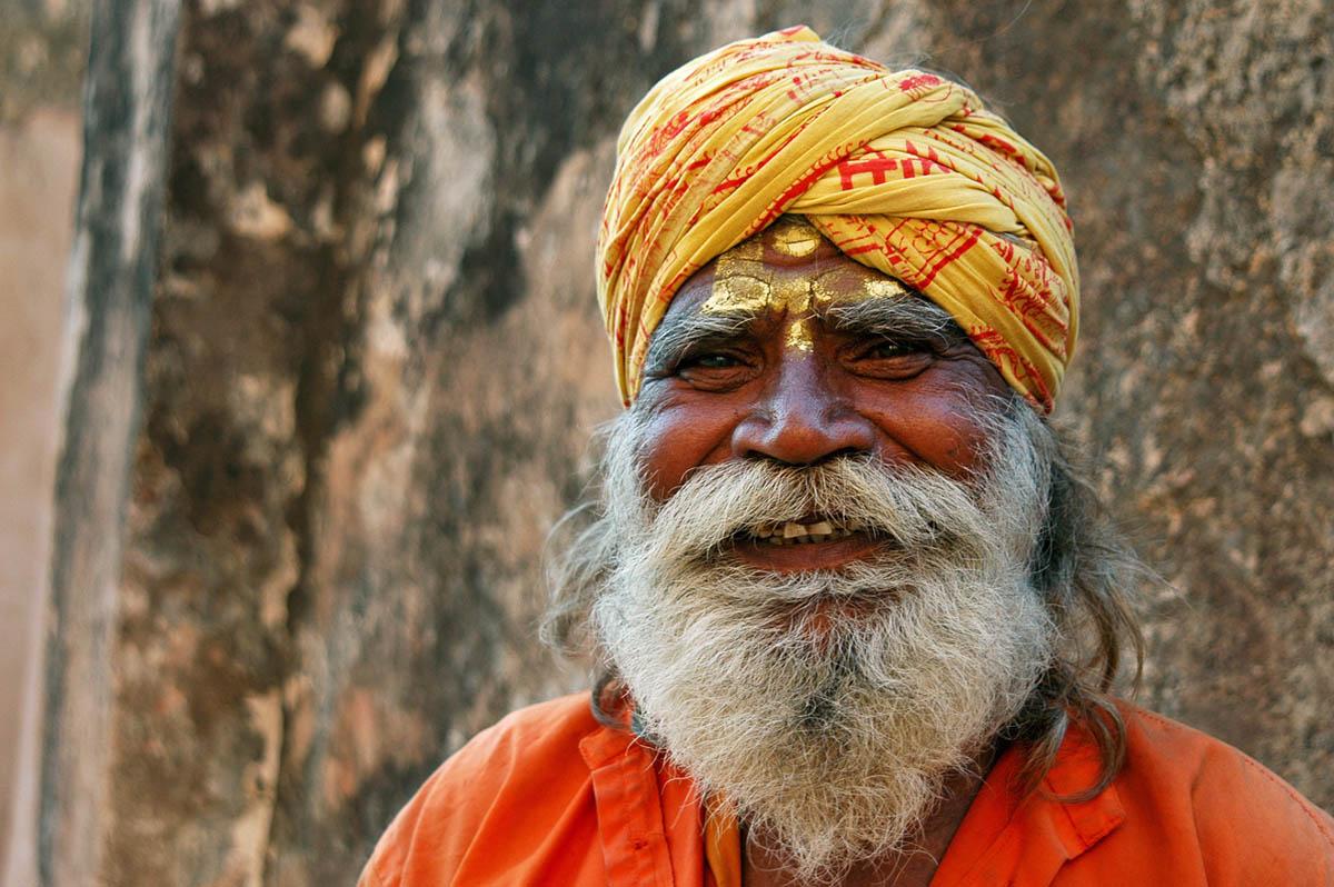 Saddhu, Varanasi, India