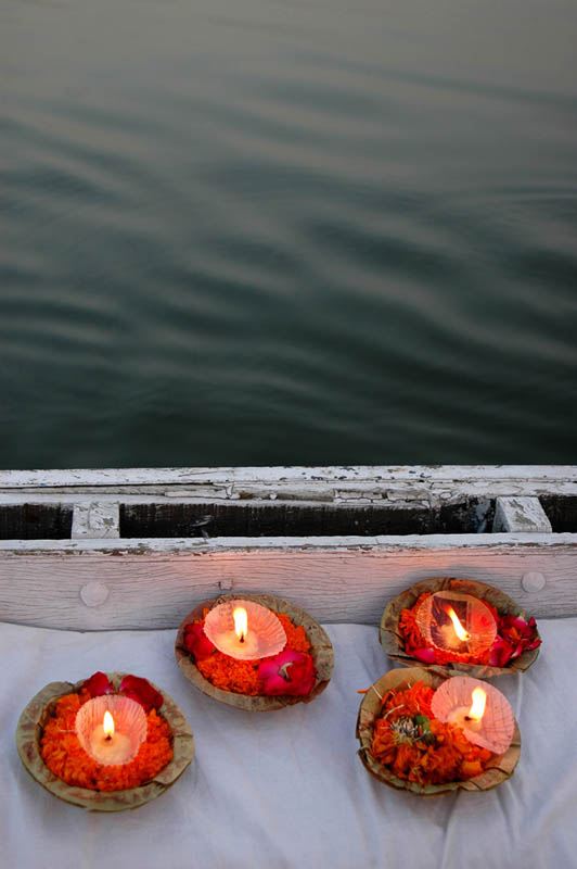 Prayers, Ganges River, Varanasi