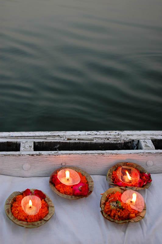 Prayers, Ganges River, Varanasi