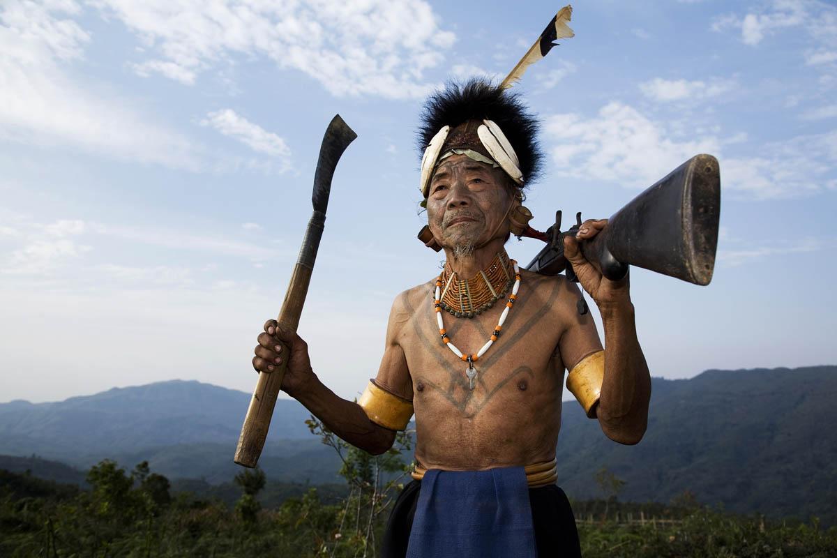 Warrior, Nagaland, India