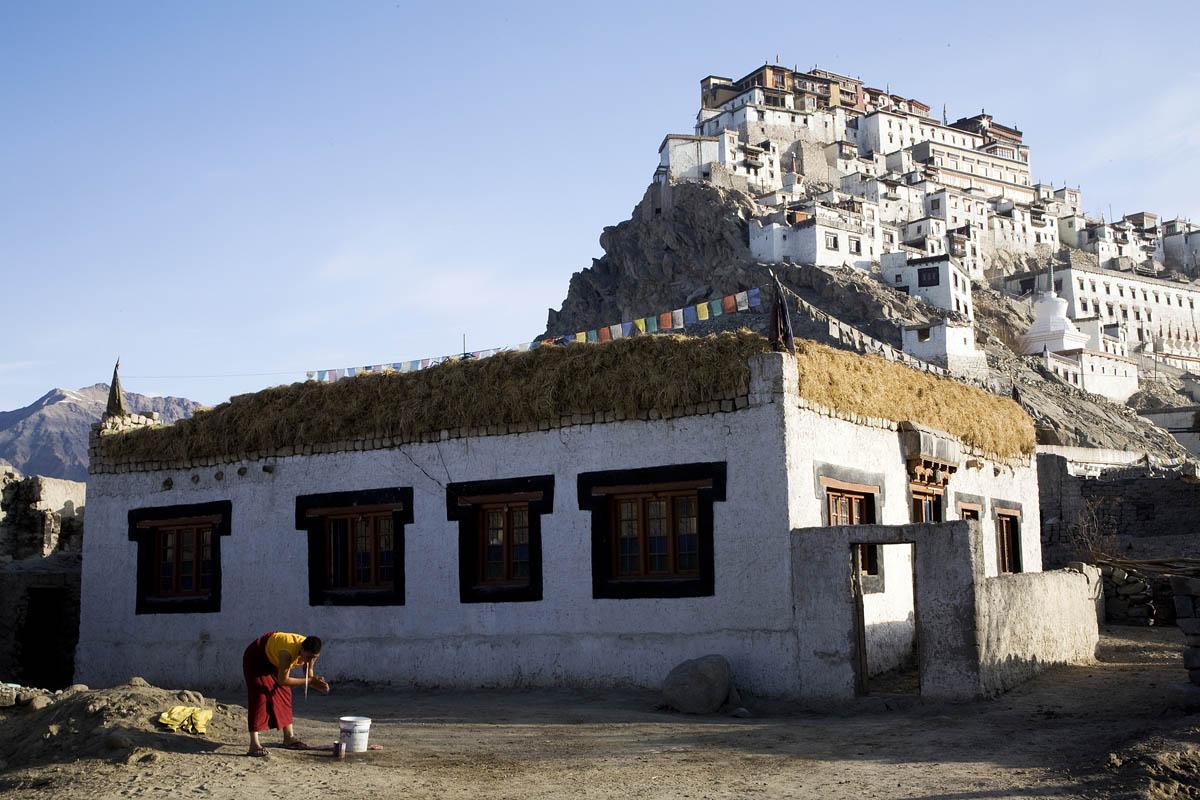 Thiskey Morning, Ladakh