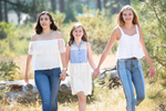 girls-together-Tahoe-family