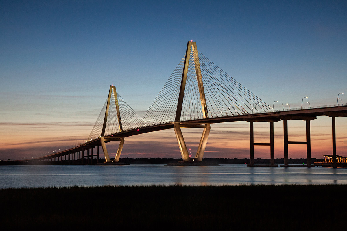 Ravenel Bridge in Charleston, SC