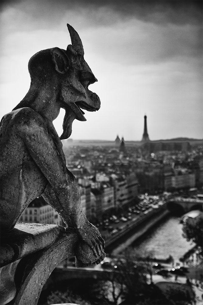 Gargoyles of Notre-Dame