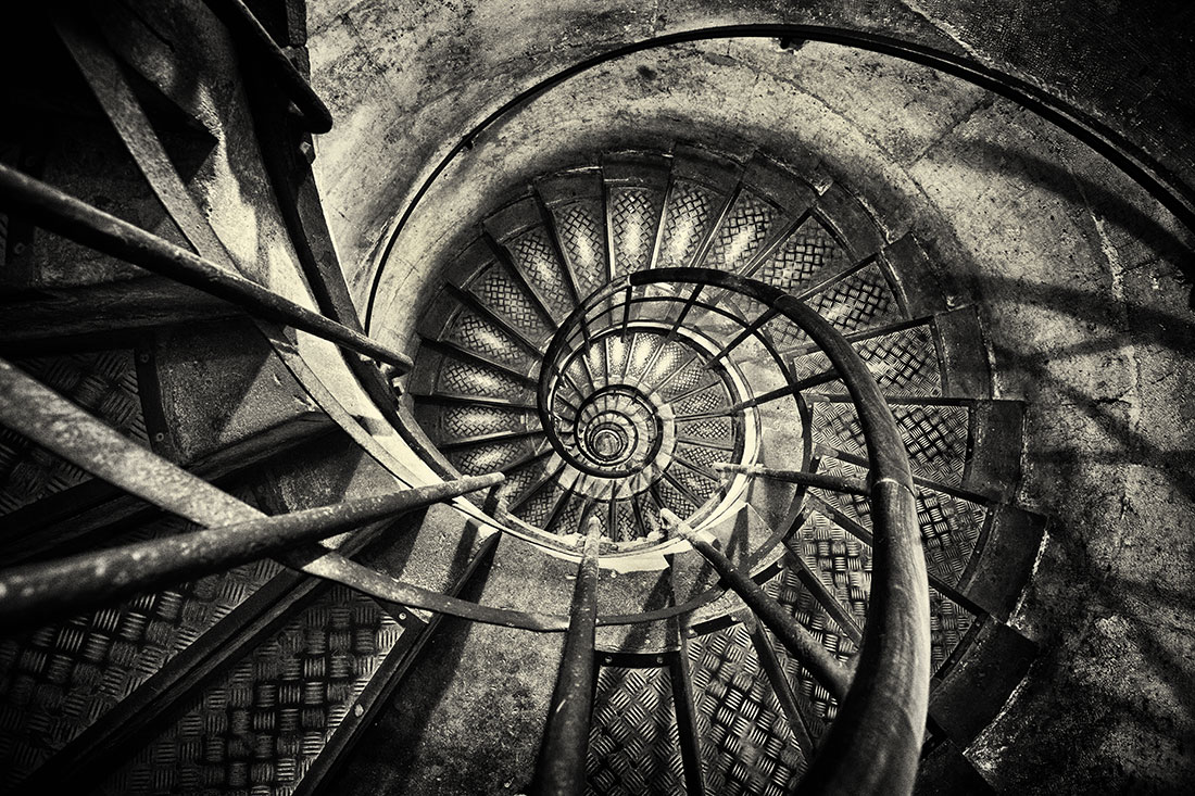 The stair case in the....