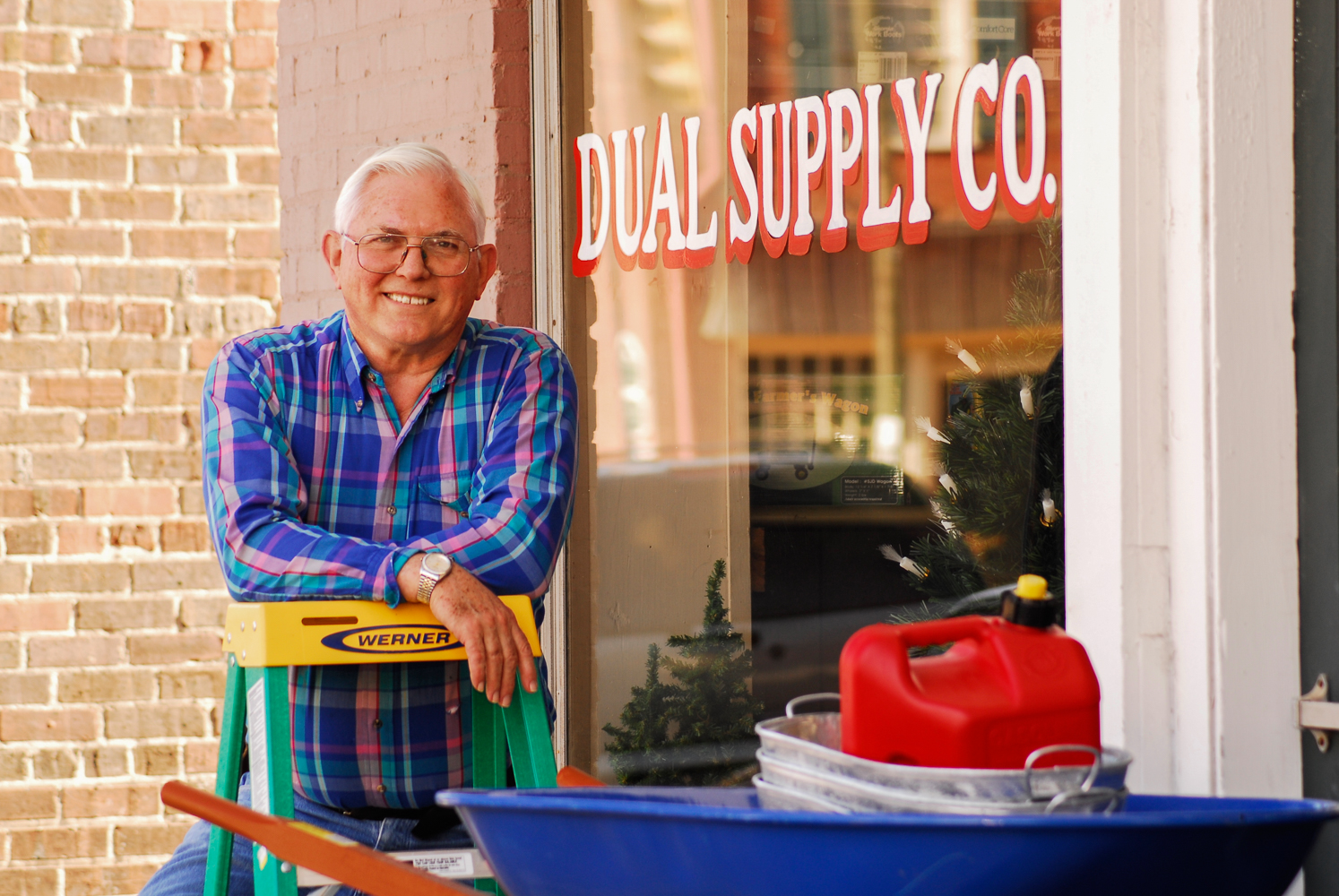 Wesley Woods is the owner and proprietor of Dual Supply, a hardware store in Hillsborough, North Carolina.