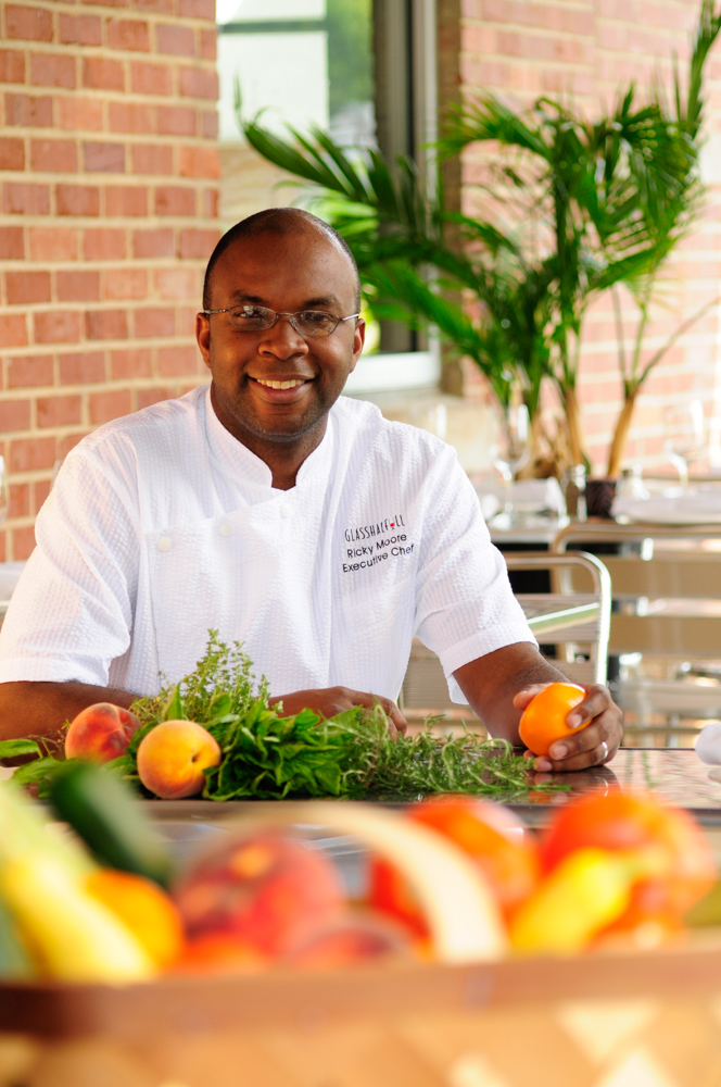 Ricky Moore is now the owner and head chef of the acclaimed Saltbox Seafood Joints in Durham, North Carolina.