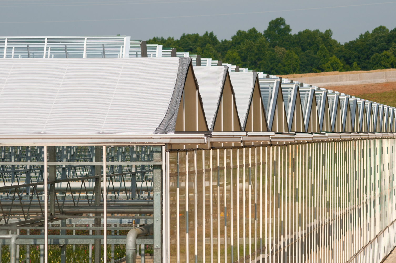 For every inch of rainfal, this 162 acre greenhouse roof allows the owner to collect and store 3 million gallons of water.
