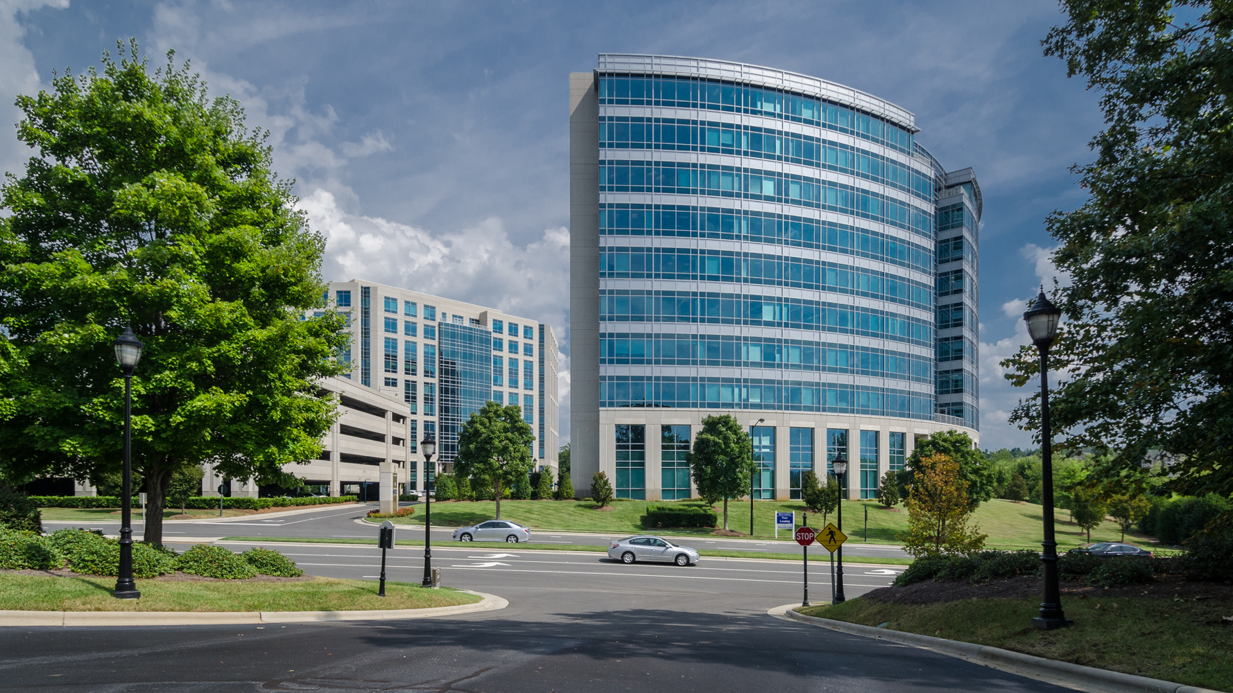 The Boyle Building is in Ballantyne Corporate Park, Charlotte, North Carolina.