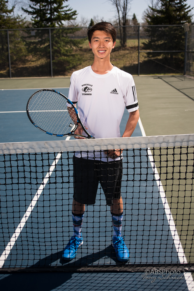 RAHS Boys Tennis Portraits
