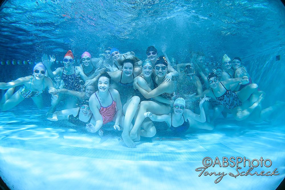 RAHS Swim and Dive Portraits