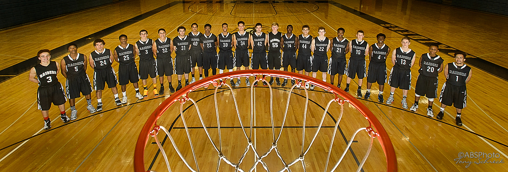 RAHS Boys Basketball Portraits