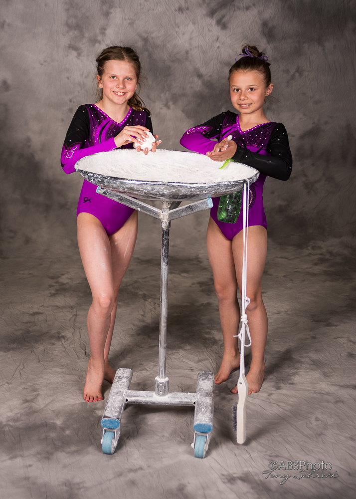 Roseville Gymnastics Club Portraits.