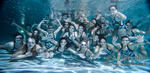 RAHS Girls Swim and Dive Portraits