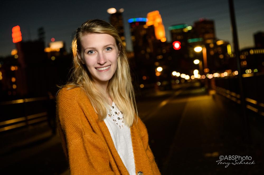 Leah Peterson senior Portrait