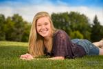 Emily Christiansen senior Portrait