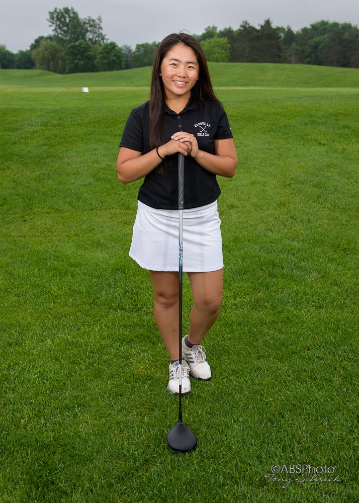 RAHS Girls Golf Portraits