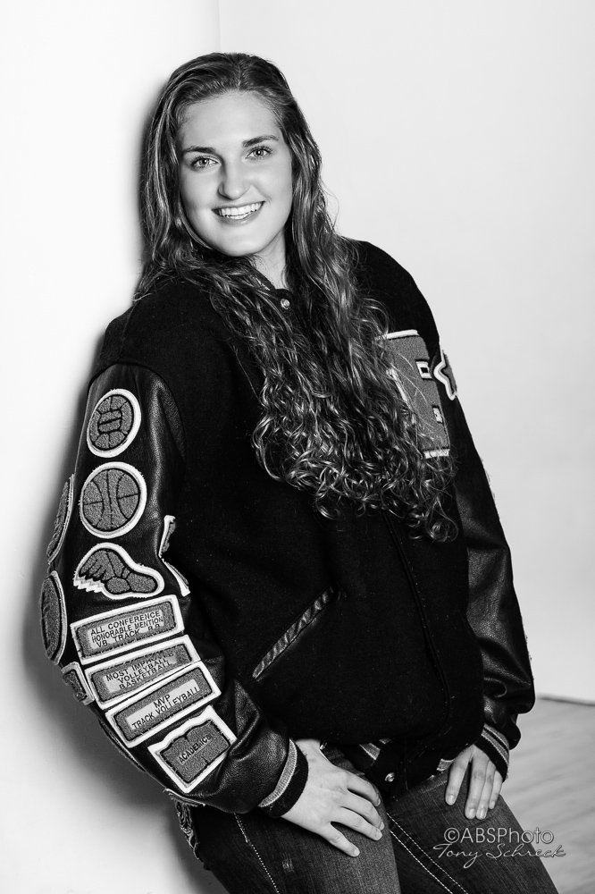 Monica Burich Senior Portraits - Studio.