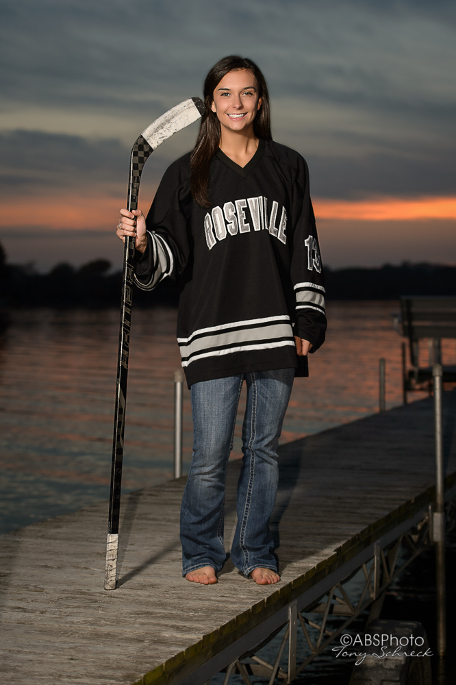 Megan Tragiai RAHS Senior Portrait