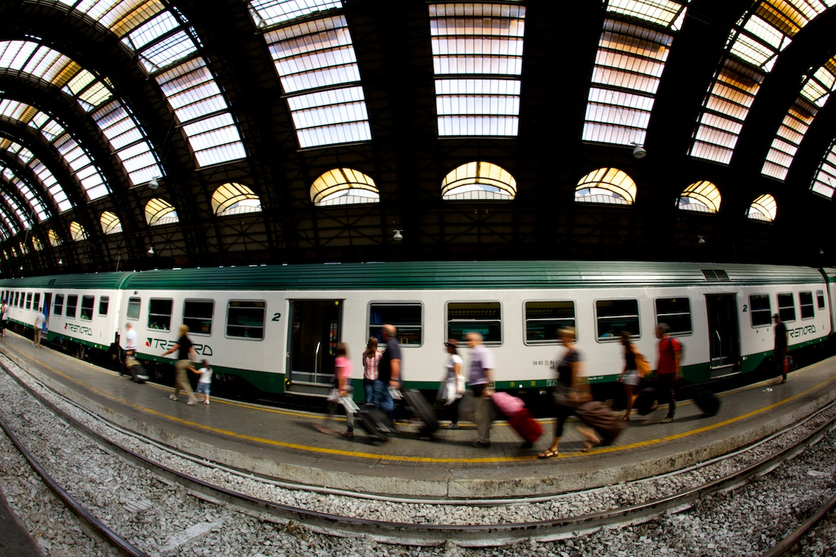 Milan Central Train Station