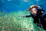 Dr Sylvia Earle at Palmyra Atoll