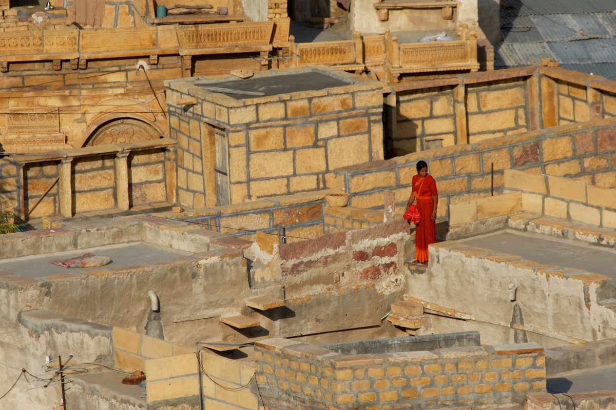 Rooftops - Jaisalmer, India