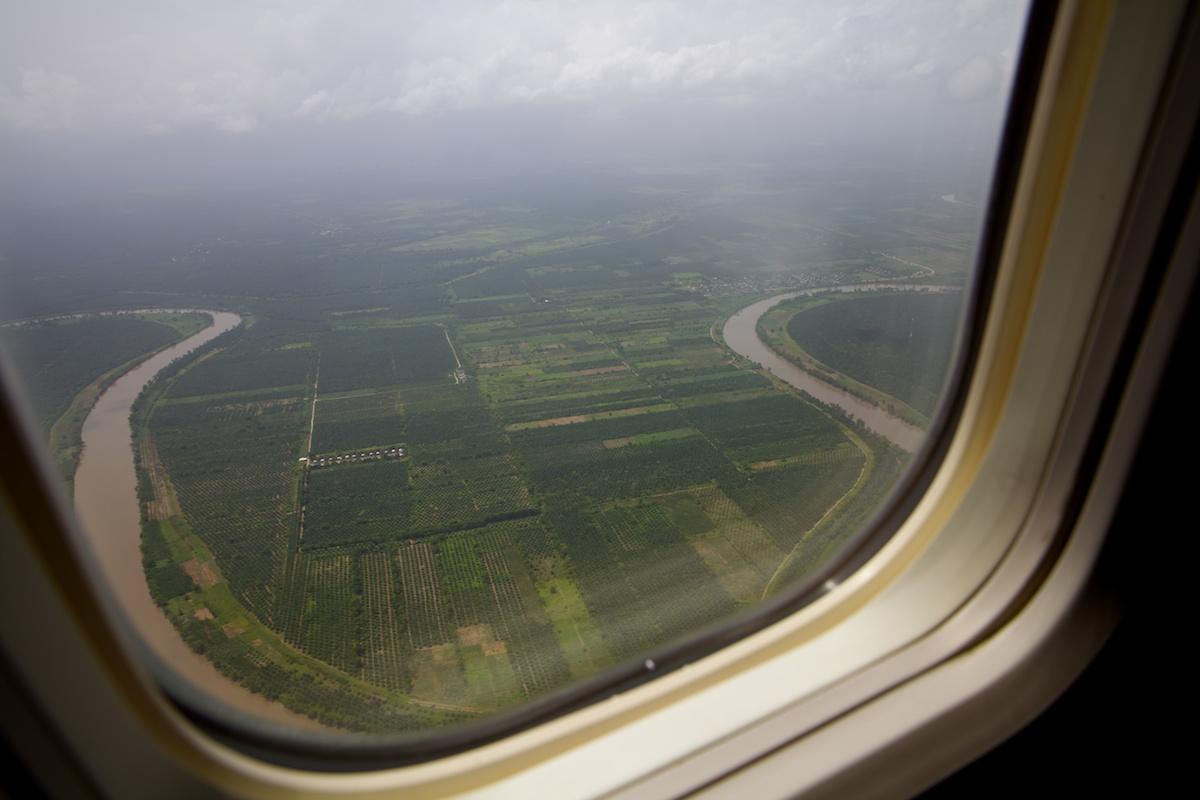 Landing in San Pedro Sula
