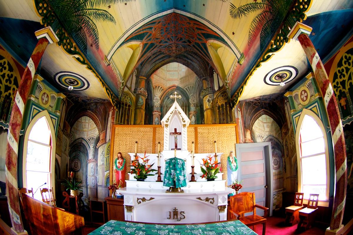 The Painted Church - Hawaii