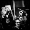 Day 7 - Al Podgorski, Scott Stewart and Dam Najolia hold their memorable images at the Save our Sun-Times Rally