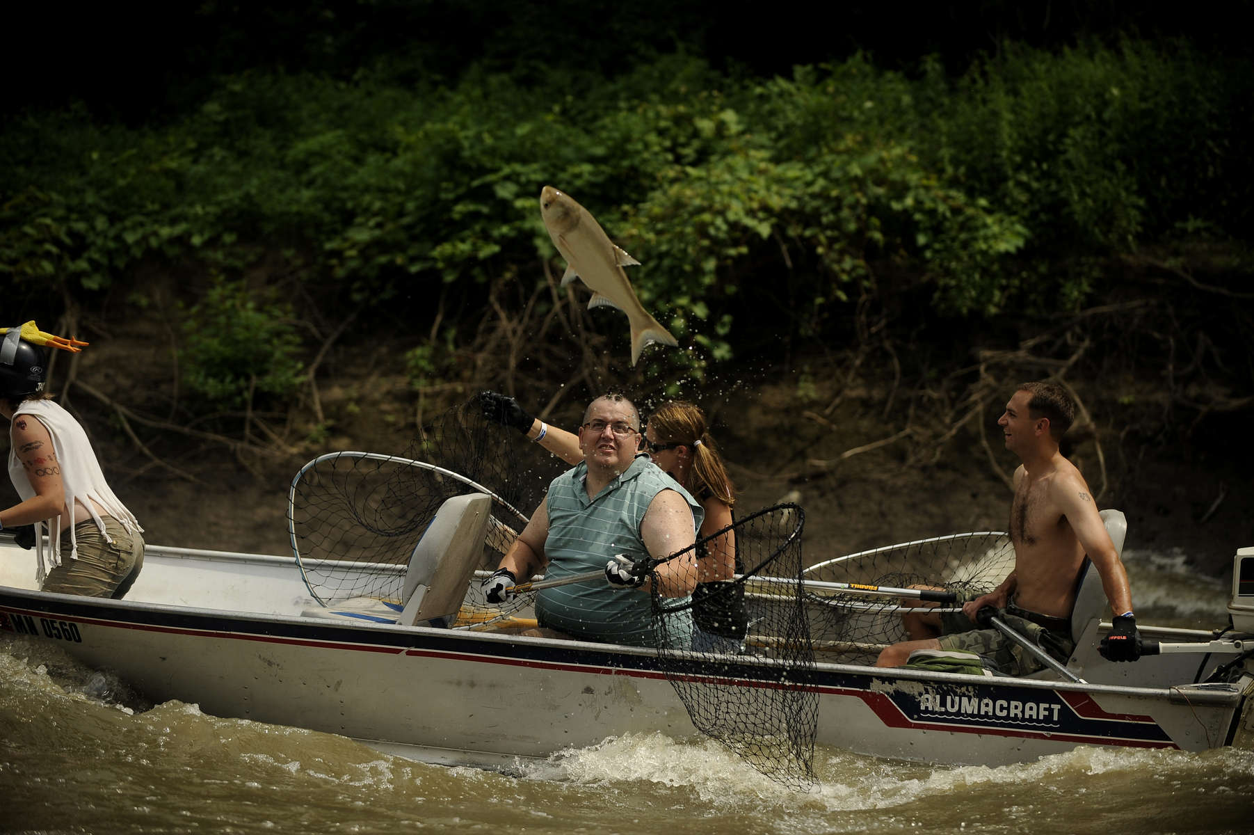 8/5/11 Bath,ILat the Redneck Fishing Tournament in Bath on Aug. 5, 2011. | Rob Hart~Sun-Times Media
