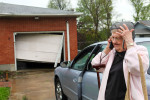 {quote}It's really, really, really, bad,{quote} Frances Choat tells her insurance adjuster as she stands outside her home on Dawn Avenue in Granite City. Choat had just gotten home from Good Friday church service when the storm came through. The National Weather Service confirmed that an EF2 tornado touched-down near Granite City.