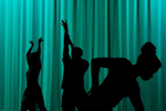 Performers of The Wiz dance during a rehearsal Thursday evening February 4, 2016. The musical will be performed at the Ella Fitzgerald Theater at the Downing-Gross Cultural Arts Center February 18-27.