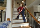 First Place | Photo StoryTodd Sumlin, The Charlotte Observer12/29/2010 Despite the surgery, sometimes Michael Humphries still crawls up the stairs at his south Charlotte home.