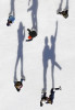 HM | PictorialShawn RoccoNews & ObserverIce skaters and their shadows glide across the outdoor ice rink located in City Plaza on Fayetteville Street in Raleigh, N.C.