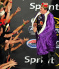 Second Place | Sports Story Jeff SinerCharlotte ObserverFans reach out to touch a crewman for NASCAR Sprint Cup Series driver Matt Kenseth during driver introductions.