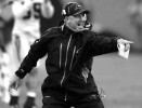 Third Place | Sports Story Jeff SinerCharlotte ObserverCarolina Panthers head coach John Fox reacts after throwing the challenge flag on a pass ruling.