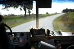 Student Photographer of the YearSpencer Bakalar, UNC-Chapel HillCountry roads stretch between the stops Marlina makes while driving the bookmobile.