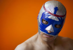 Student POY: Runner upStephen Mitchell, UNC-Chapel HillMexican professional wrestler El Monje Blanco, Jr. (The White Monk, Jr.) poses for a portrait at the Metropolitan Gym in Mexico City.