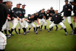 First Place | Photo StoryAndrew Craft, The Fayetteville ObserverThe Harvard-Westlake baseball team plays a game of two ball as they wait out a four-hour rain delay of the championship game at the USA Baseball H.S. Invitational in Cary, N.C.