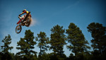 Second Place | SportsAndrew Craft, The Fayetteville ObserverDJ Jones launches his dirt bike into the air at Outback ATV Park in Laurinburg.