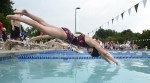 Second Place | Photo StoryJohn D. Simmons, The Charlotte ObserverSwimmers take your mark... and then they are off during a swim meet at the Davis Lake pool. It is a right of passage for many children and their families...the summer neighborhood swim meet. About 200 simmers from the Davis Lake Dolphins and the Skybrook Storm hit the pool on Tuesday, June, 12, 2012 for some wet fun and competition. Families and friends packed the poolside decks to cheer on their charges.