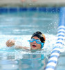 Second Place | Photo StoryJohn D. Simmons, The Charlotte ObserverSix-year-old Marin Sullivan fights her way to the wall during the first heat of the six and under 100 yard freestyle relay event during a swim meet at Davis Lake.