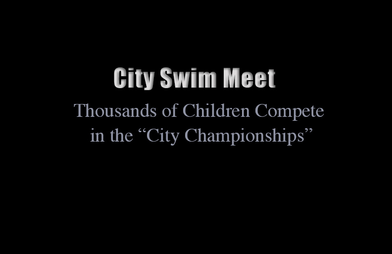 Second Place | Multiple PhotosJerry Wolford, News & RecordThousands of children compete in the annual {quote}City Championships{quote} swim meet.JUDGES COMMENTS: This story had some nice moments and was thoroughly covered.