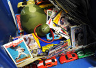 First Place | News Photo StoryErin Brethauer, The Asheville Citizen-TimesKameron Honeycutt's locker was filled with sports cards, toy cars and drawings.  The last day of school at Buladean Elementary was held Tuesday.