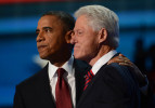 Third Place | News Photo StoryJeff Siner, The Charlotte ObserverPresident Barack Obama joins former President Bill Clinton after Clinton delivered a keynote address at the Democratic National Convention.