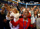 Third Place | News Photo StoryJeff Siner, The Charlotte Observer(L-R) Brenda Wilkins and Denise Adams celebrate during the Democratic National Convention at Time Warner Cable Arena in Charlotte, NC.