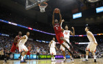 Sports Photographer of the YearEthan Hyman, News & ObserverN.C. State's C.J. Leslie (5) drives to the basket in the second half during N.C. State's 67-64 victory over Virginia  in the quarterfinals of the ACC Tournament Friday, March 9, 2012, at Philips Arena in Atlanta, GA.