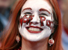 Sports Photographer of the YearEthan Hyman, News & ObserverNatalie Miller of Raleigh has her face painted to support the Wolfpack before their game in the Sweet 16 round of the NCAA Men's Basketball Tournament at the Edward Jones Dome in St. Louis, Missouri.