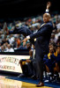 Sports POY: Runner UpJerry Wolford, News-RecordNorth Carolina A&T State University's head coach, Cy Alexander, gets excited during the game as North Carolina A&T defeated UNCG 90-79.